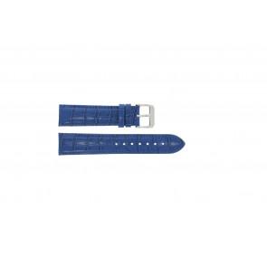 Pulseira de relógio Universal 285R.05 Couro Azul 20mm