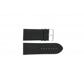 Bracelete em pele de búfalo preto 30mm PVK-305
