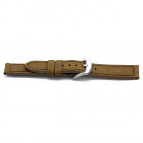pulseira de couro genuíno 16mm EX-E337