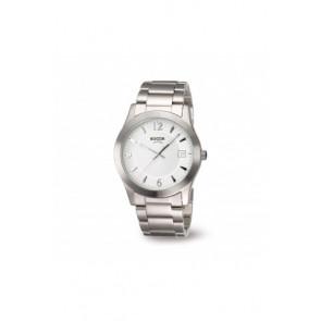 Pulseira de relógio Boccia 3550 - 01 Aço Aço 22mm