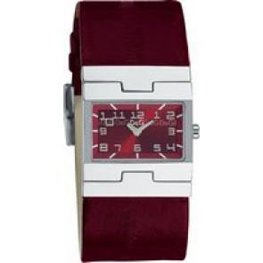 Pulseira de relógio Dolce & Gabbana 3719251493 Couro Bordéus 25mm