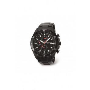 Pulseira de relógio Boccia 3762-03 / 811 A3762AQSXC Aço Preto 21mm