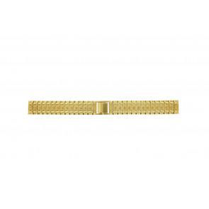 Pulseira de relógio Universal 41559.1.16 Aço Banhado a ouro 16mm