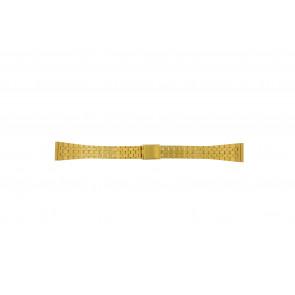 Pulseira de relógio Universal 42522.5.16 Aço Banhado a ouro 16mm