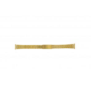 Pulseira de relogio 42539-1-14 Metal Banhado a ouro 14mm