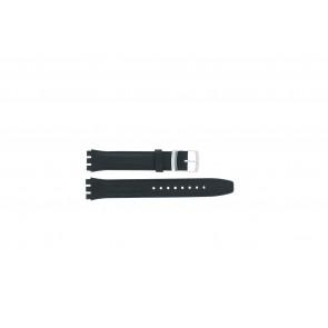 Pulseira de relógio Swatch (alt.) 51643.06 Couro Azul 17mm