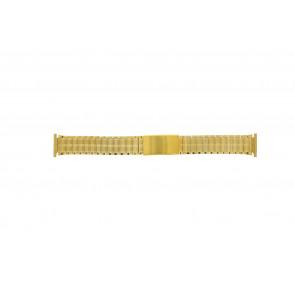 Pulseira de relógio Universal 551528 Aço Banhado a ouro 20mm