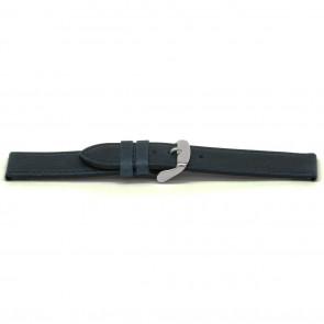 pulseira de couro genuíno azul 16mm EX-E629