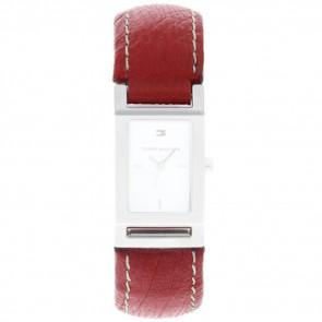 Pulseira de relógio Tommy Hilfiger 679300818-8471503 Couro Vermelho