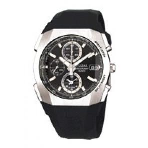 Pulseira de relógio Pulsar 7T62-X121 Plástico Preto