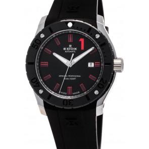 Pulseira de relógio Edox 80088 Borracha Preto