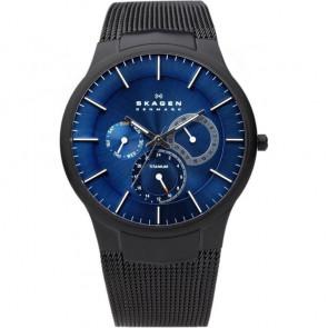 Pulseira de relógio Skagen 809XLTBN Aço Preto