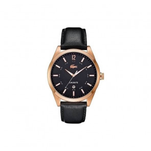 Pulseira de relógio Lacoste 2010582 / LC-52-1-34-2266 Couro Preto 22mm