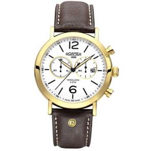 Pulseira de relógio Roamer 935951-48-24-09 Couro Marrom
