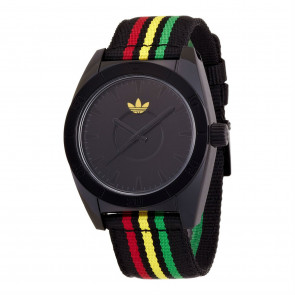 02fbe81764575 Pulseira de relógio Adidas ADH2663 Nylon pérola Multicolorido