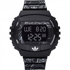 Pulseira de relógio Adidas ADH6096 Plástico Preto 15mm
