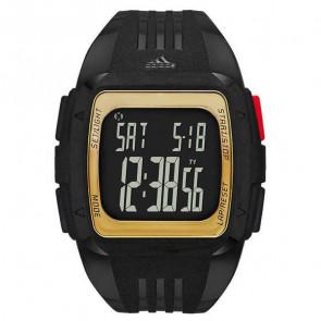 Pulseira de relógio (Combinação de pulseira + caixa) Adidas ADP6135 Plástico Preto 35mm
