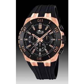 Pulseira de relógio Lotus 15804/1 Borracha Preto 31mm