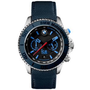 Pulseira de relógio Ice Watch BM.BLB.B.L.14 Lona Azul 21mm