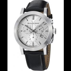 Pulseira de relógio Burberry BU9358 / 7177850 Couro Preto
