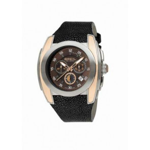 Pulseira de relógio BW0380 Couro Preto 26mm