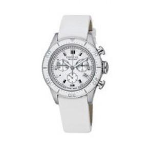 Pulseira de relógio Breil BW0502 Couro Branco 20mm