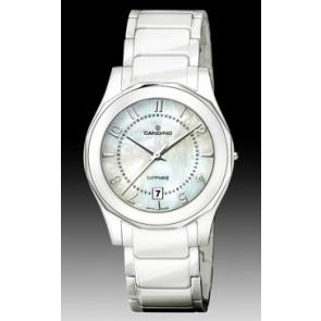 Pulseira de relógio Candino C4352-2 Cerâmica Branco