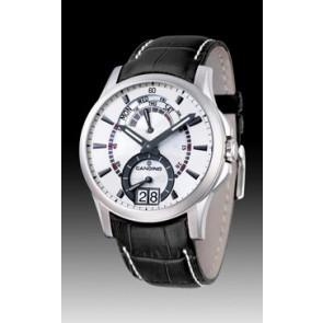 Pulseira de relógio Candino C4387/2 Couro Preto