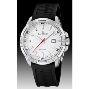Pulseira de relógio Candino C4497-1 (BC07412) Borracha Preto