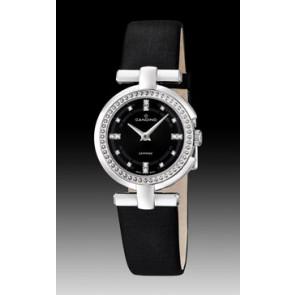 Pulseira de relógio Candino C4560-2 Couro Preto