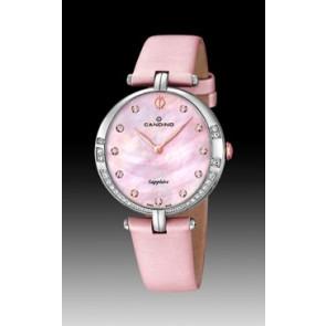 Pulseira de relógio Candino C4601-3 Couro Rosa