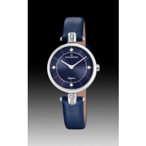 Pulseira de relógio Candino C4658-3 Couro Azul