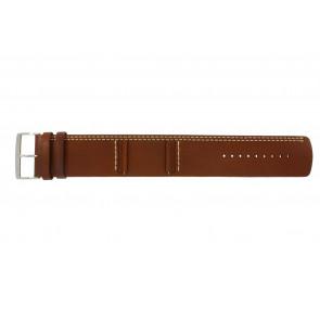 Pulseira de relógio Camel BC51023 Couro Marrom 27mm