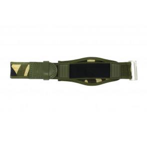 Pulseira de relógio Camel Active Velcro Verde 26mm
