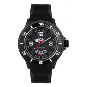 Pulseira de relógio Ice Watch DI.BW.XB.R.11 Plástico Preto 20mm