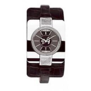 Pulseira de relógio Dolce & Gabbana DW0161 Couro Preto