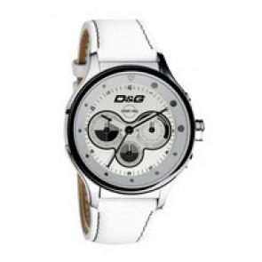 Pulseira de relógio Dolce & Gabbana DW0212 (F357000728) Couro Branco