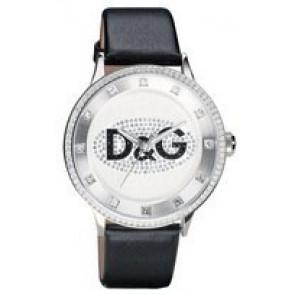 Pulseira de relógio Dolce & Gabbana DW0507 Couro Preto