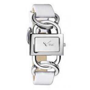 Pulseira de relógio Dolce & Gabbana DW0563 Couro Branco 16mm