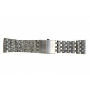 Diesel pulseira de relogio DZ7221 Metal Prata 28mm