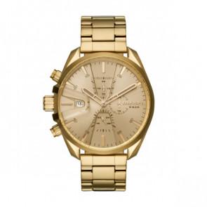Diesel DZ4475 Relógio de quartzo Homens Banhado a ouro