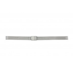 Other brand pulseira de relogio E-ST-ZIL-12 Metal Prata 12mm