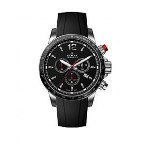 Pulseira de relógio Edox 10229-3CA-NIN Borracha Preto