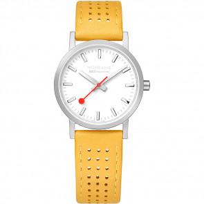 Pulseira de relógio Mondaine A658.30323.16SBD / FE3116.50Q.2 Couro Amarelo 16mm