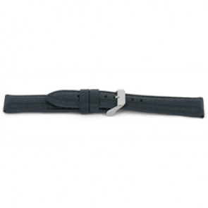 Pulseira de relogio G081 XL  Couro Cinza 20mm + costura cinza