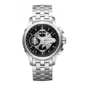 Pulseira de relógio Hamilton H001.32.696.139.01 / H605376100 Aço Aço 22mm