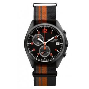 Pulseira de relógio Hamilton H76582933 Textil Multicolorido 22mm