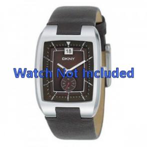 8a012b7da73 Pulseira de relógio DKNY NY1319 Couro Marrom 20mm