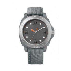 Pulseira de relógio Hugo Boss HB-142-1-29-2395 / HO1512666 Textil Cinza 22mm