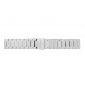 Hugo Boss pulseira de relogio HO1512983 / HB-223-1-14-2630-2399-4/13 Metal Prata 24mm